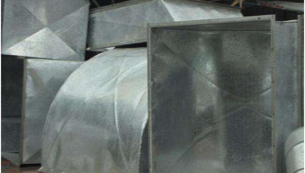 Six common commercial ductwork parts