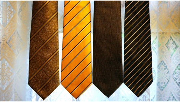 What does your tie pattern reveal about you?